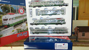 """Le Models Le15221 Etr 226 Green/grey, Railway Carriage 3 With Servis """"rialto"""""""
