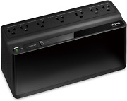 Ups With Battery Backup And Surge Protector Model Be600m1 Usb Charger 600va Black