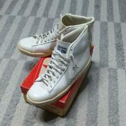 Deadstock 70and039s Vintage Converse All Star Pro Leather 1-9791 Men Us10.5