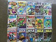 Lot Of 30 The Incredible Hulk 242-710 Annuals 17 18 Marvel Comics