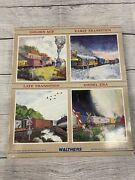 Walthers 932-912 Work Train Kit 1 Santa Fe 6 Car Set In Excellent Condition