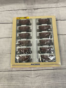 Ho Walthers Gold Line Great Northern 12 Pack Ore Cars Different Numbers