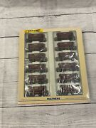 Ho Walthers Gold Line Soo Line 12 Pack Ore Cars Different Numbers