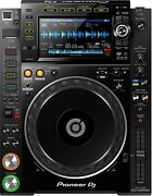 Pioneer Cdj-2000nxs2 Dj Professional Multiplayer Cdj Player With Touch Screen