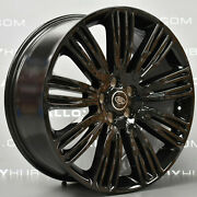 22'' Wheels Gloss Black With Tires Fit Land Rover Range Rover Hse Sport Lr3 Lr4