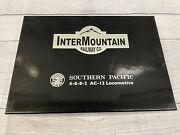 Intermountainsouthern Pacific 4-8-8-2 Cab Forward Locomotive W/ Sound And Dcc Ho