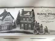 Dept 56 Dickens Village 58327 Lamp Store Stake Shop Set Of 13 Start A Tradition