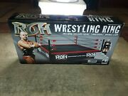 Rare 2015action Figures Toy Co. - Ring Of Honor Wrestling Ring W/ Michael Elgin
