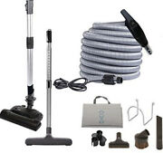 Ovo Central Vacuum Deluxe Plus Kit For Hard Surfaces And Carpets Kit-lv35dp-ovo