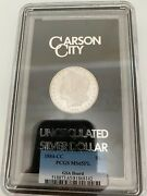 Hard To Find Gsa Hoard Morgan Silver Dollar In Proof Like. Pcgs Ms 65pl 1884 Cc