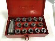 Snap - On Cg-500 Stud Remover Puller Re-setter Tool Metal Case