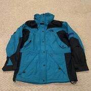 Vtg The Extreme Light Shell Stow Away Hood Jacket Womens Size 12
