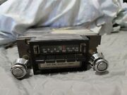 Vintage Ford 8 Track Player Radio Untested For Parts