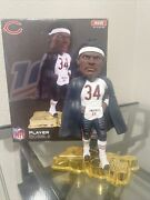 Walter Payton Nfl 100 Bobblehead. 1/1 Unnumbered Prototype Sample. By Foco.