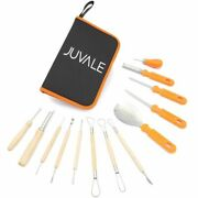 Set Of 13 Pcs Halloween Pumpkin Carving Tools Kit For Party 6.2 X 9.8 X 1.6 In.