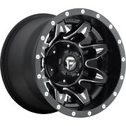 4- 15x10 Black Fuel Lethal 5x4.5 And 5x4.75 -43 Rims Courser Mxt 35 Tires