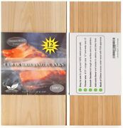 12 Pack Cedar Grilling Planks With Thicker 4/10 And Larger