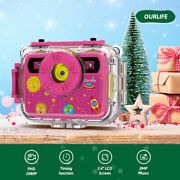 Kids Action Sports Video Digital Cameras Toys Waterproof 1080p For Child Gifts
