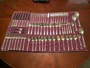 Royal Crest Sterling Silverware Set - 63 Pieces + 5 Small Wallace Brothers Forks