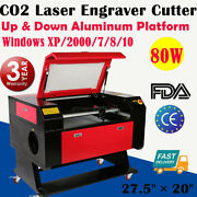 27.5 Andtimes 20 80w Co2 Laser Engraver Cutter Laser Engraving Cutting Machines Usb