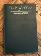The Proof Of God By Harold Begbie Hardcover