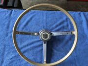 1967 Chevrolet Chevelle Factory Steering Wheel With Horn Button Used Oem.