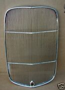 1932 Ford Stock Grill Shell Insert All Coupe Roadster Stainless