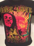 Official Bob Marley One Love King Of Kings Reggae Jamaica T Shirt 420 Size Small