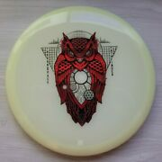 Thought Space Athletics Glow Pathfinder Red And Silver Owluminati Stamp 176g