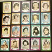 1982 Wrestling All Star A 33 Card Lot Partial Set Minus Andre Hogan And Flair