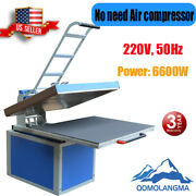 Us 31in X 39in Textile Thermo Clamshell Transfer Heat Press Machine 220v 1p