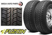 2 Fuzion Suv 265/70r18 116t All Season Highway Tires For Pick-up Truck Suv Cuv