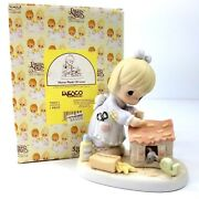 Precious Moments Home Made Of Love 730211 Patchwork House Figurine 2000 New