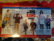 The Big Bang Theory Complete Series Limited Edition Blu-ray Set Brand New Sealed