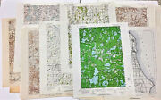 Wisconsin Maps 1892 - 1963 Editions Topographic 15 Minute Series Your Choice