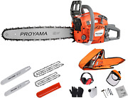 Proyama 62cc Cutting Performance 2-cycle Handheld Gas Powered Chainsaw 18-inch G