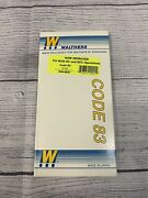 Ho Scale Walthers 948-887 Code 83 2 Wye Switch Track