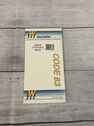 Ho Scale Walthers 948-832 Code 83 60 Degree Crossing Track
