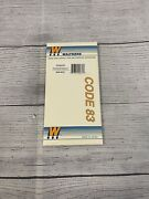 Ho Scale Walthers 948-833 Code 83 90 Degree Crossing Track