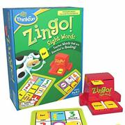 Thinkfun Zingo Sight Words Award Winning Early Reading Game For Pre-k To 2nd ...