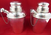 Solid Silver Cocktail Shakers 1930and039s