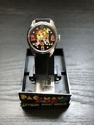 Rare 1980s Vintage Ms.pac-man X Bradley Collab Video Game Character Watch