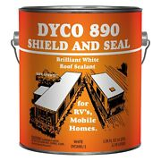 Shield And Seal 1 Gal. Polymer White Roof Sealant For Rvs And Mobile Homes
