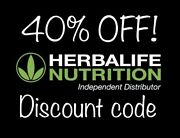 Herbalife Nutrition 40 Off Discount Code For Formula 1, Protein, Tea, And Aloe