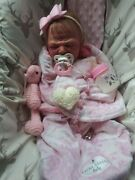 Silicone Baby By Laurie Roy Sullivan Painted Prototype By Faithfully Made Dolls