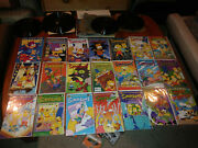 Simpsons Comics Bongo 1-17 Bartman Itchy And Scratchy 3 Wizard 28 Lot Of 21