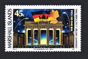 Marshall Is. Re-unification Of Germany 1990 Mnh Sg350 Sc382