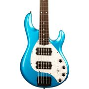 Ernie Ball Music Man Stingray5 Special Hh Rosewood Fingerboard Bass Speed Blue