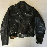 Harley 50and039s Vintage Leather Jacket Buco Beck Japan Used Size S Riders Talon