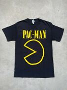 Vintage Pac-man T-shirt By Bandai Namco Games Inc. - Size L Delta Pro Weight